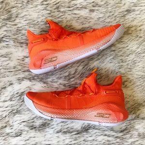 Under Armour Curry 6 Team 'Team Orange'